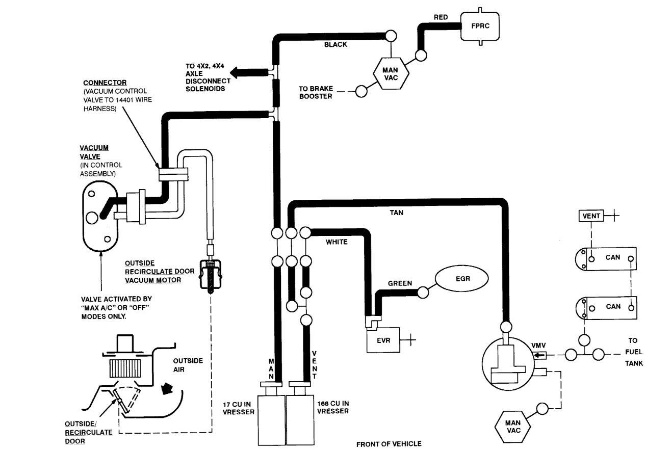 egr valve vacuum hose