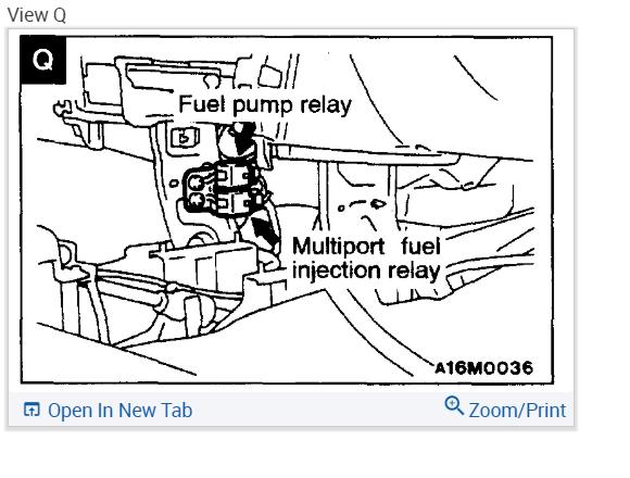 2002 Mitsubishi Mirage Fuel Filter Wiring Diagram