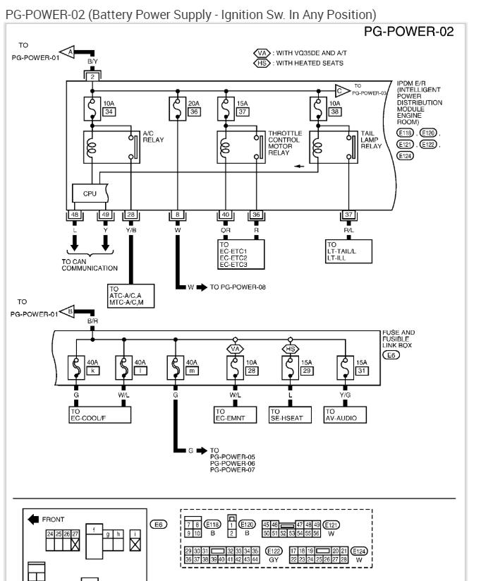 nissan march 2002 fuse box diagram