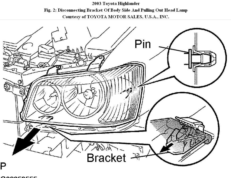 toyota highlander engine diagram for 2013