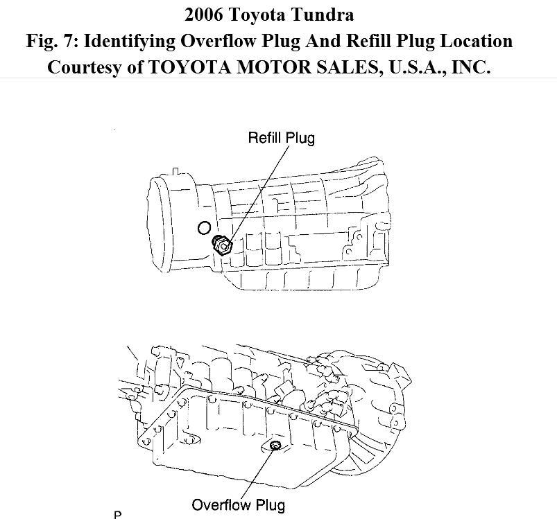 2007 Toyota Tundra Transmission Diagram - Data Wiring Diagrams