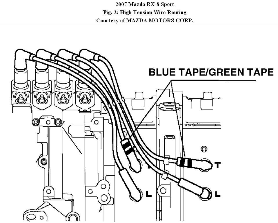 2004 mazda rx 8 wiring diagram original rx8