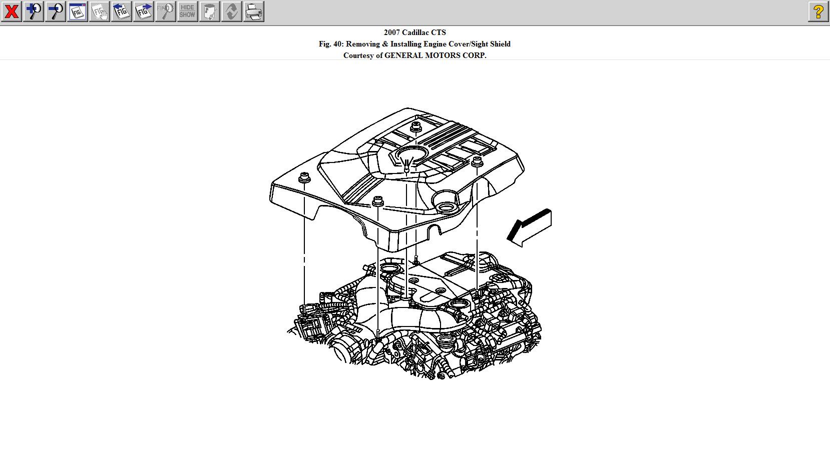 1996 cadillac deville engine diagram