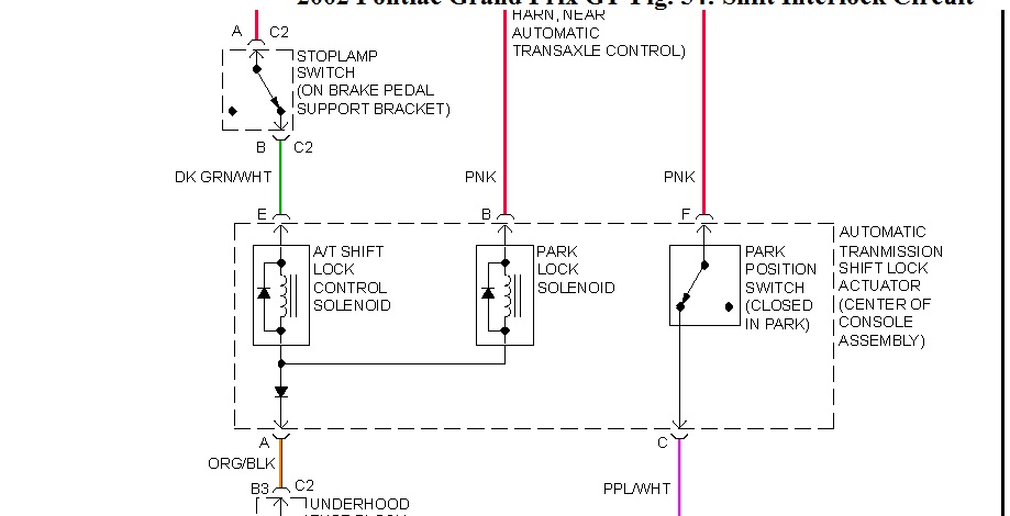 Wire Diagram for Shift Lock Solenoid Hello How Are You Doing?