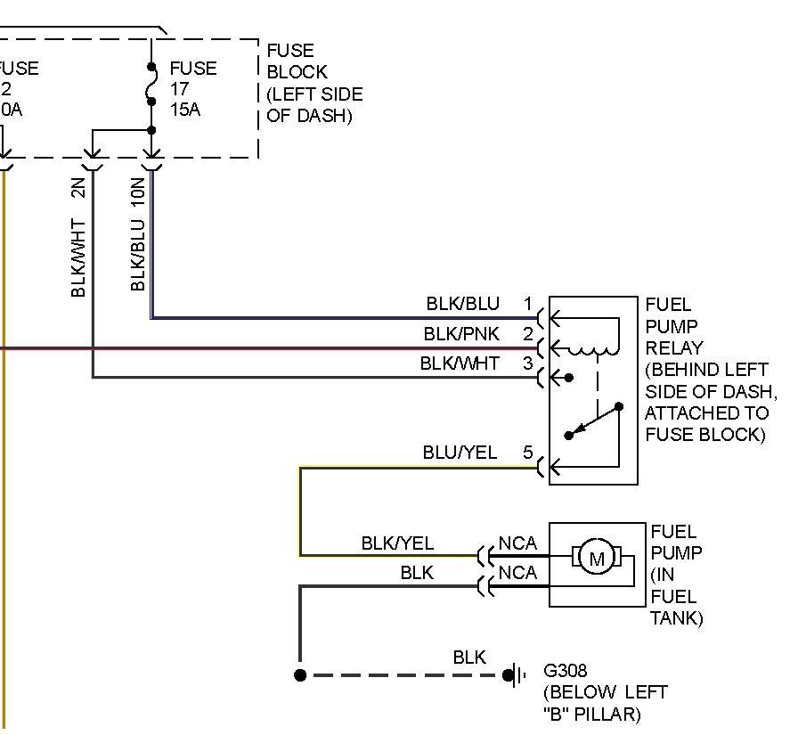 Fuel Pump Relay\
