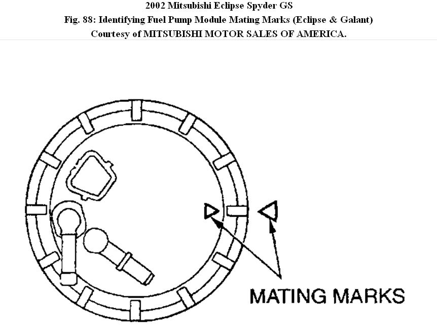 2000 Mitsubishi Eclipse Gs Fuel Pump Wiring Diagram