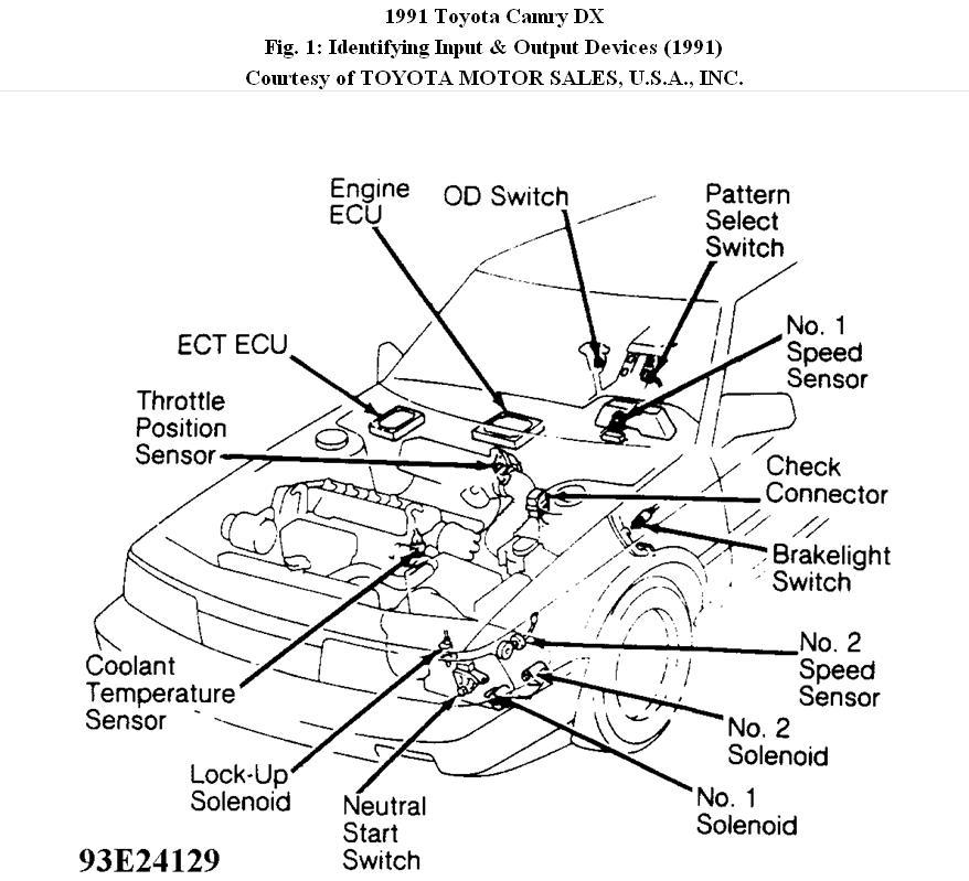 1991 toyota 2 5 engine diagram