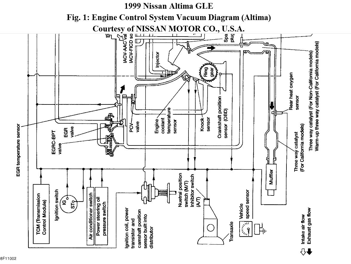 altima engine diagram
