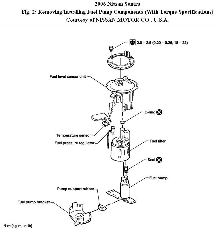 nissan versa fuel filter replacement