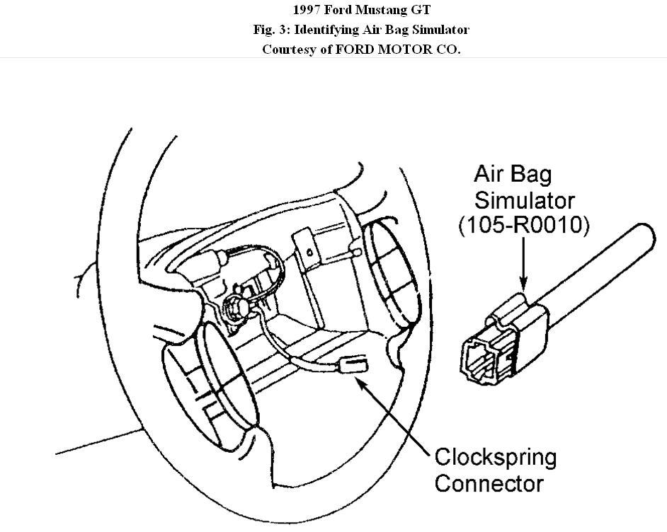 ford mustang air bags