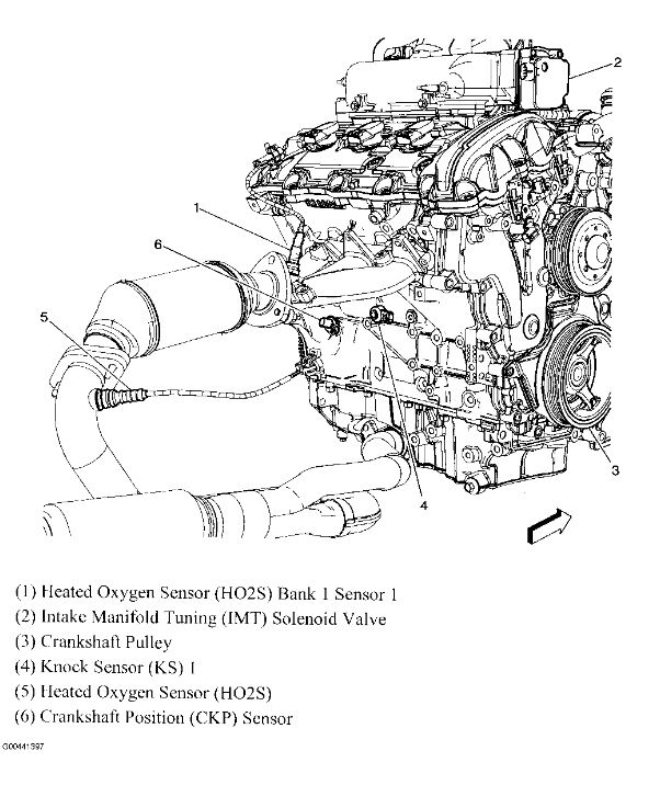 gmc acadia suspension diagram
