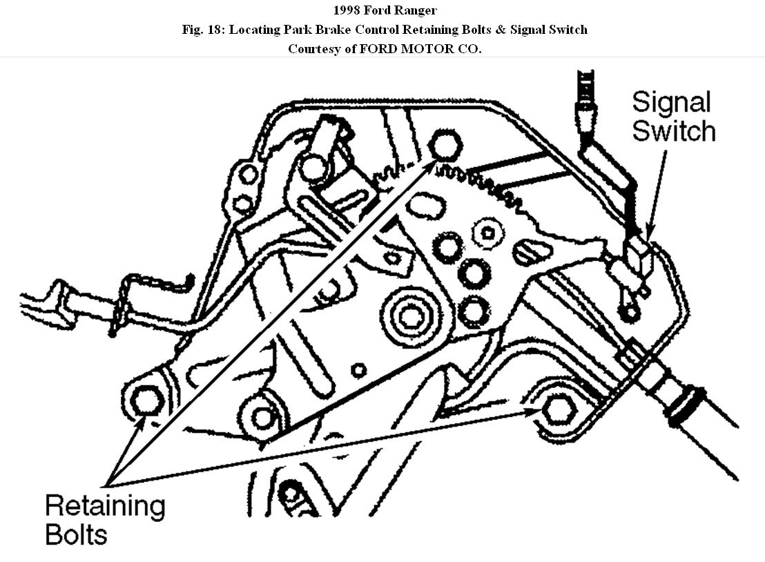 1998 ford ranger brake line diagram
