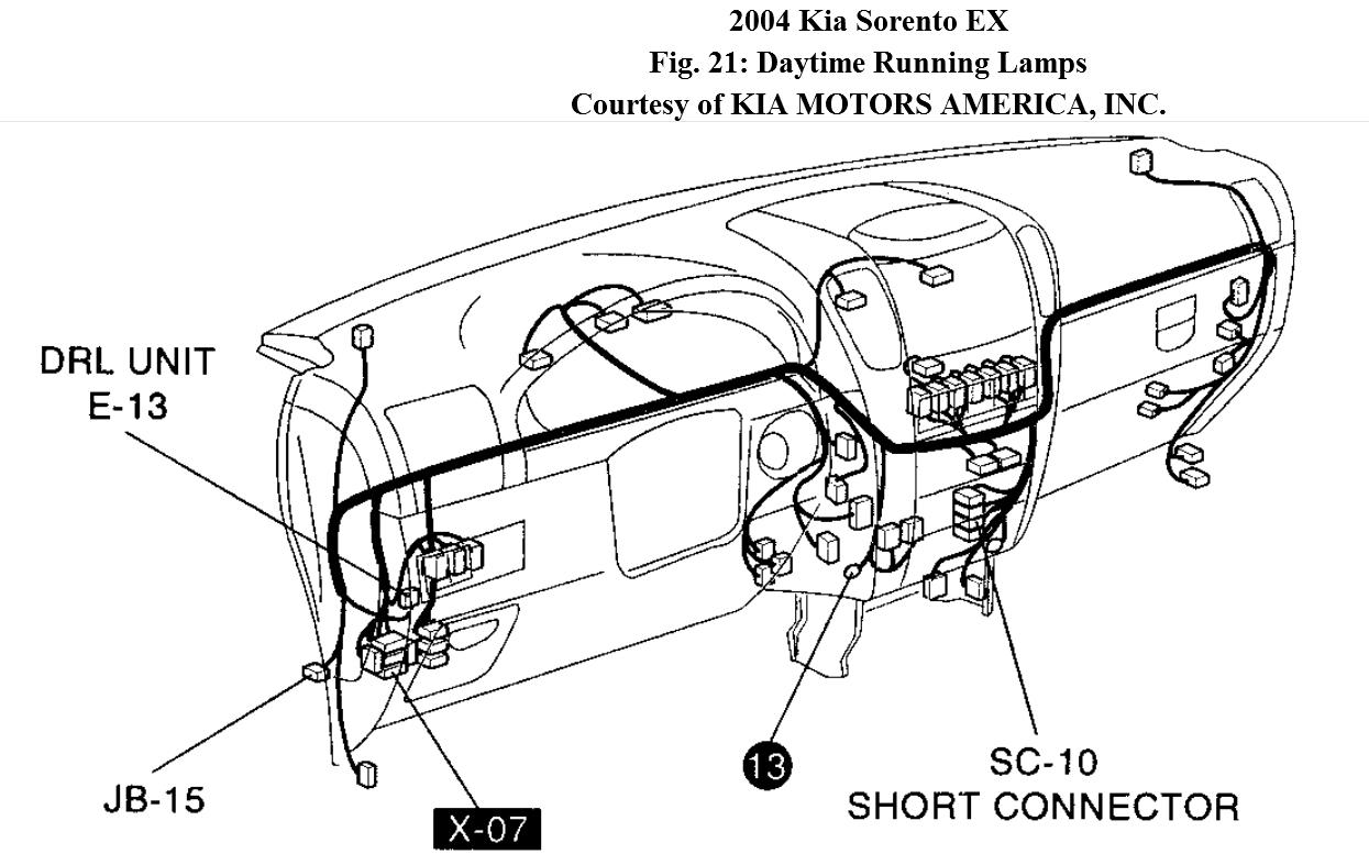 kia carens 2004 wiring diagram
