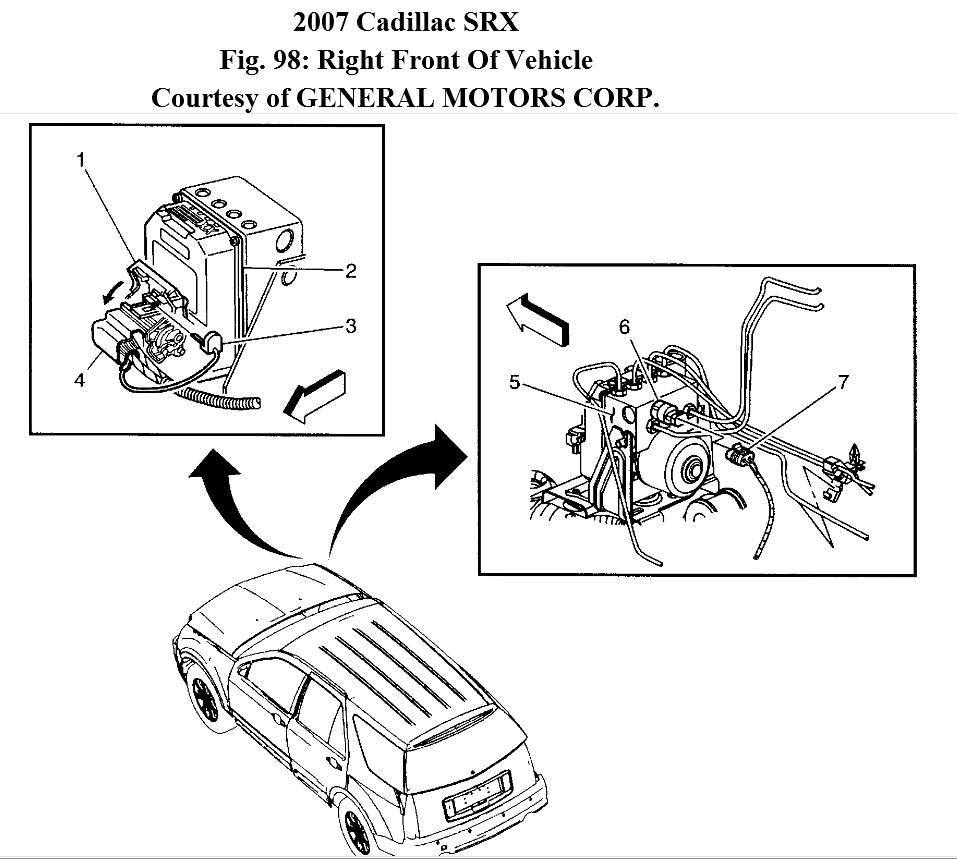 07 cadillac cts fuse diagram