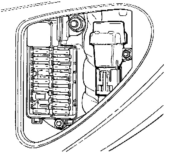 jaguar xk fuse box location