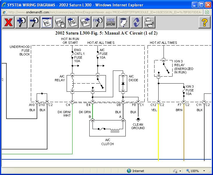 Saturn L200 Fuse Diagram circuit diagram template