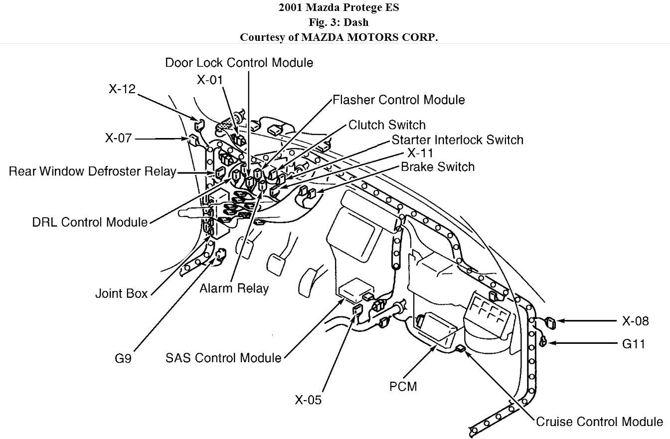 2000 mazda protege wiring schematic wiring diagram