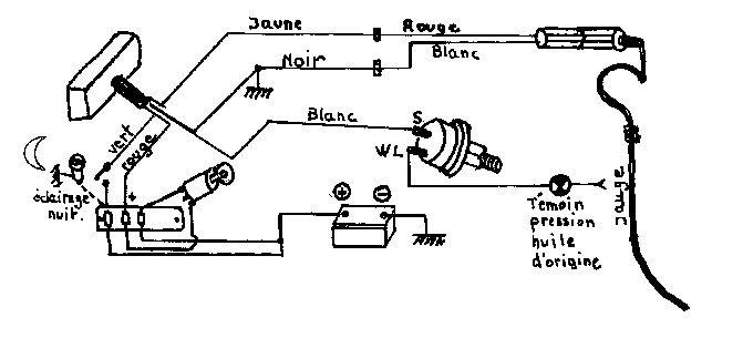 citroen 2cv schema cablage