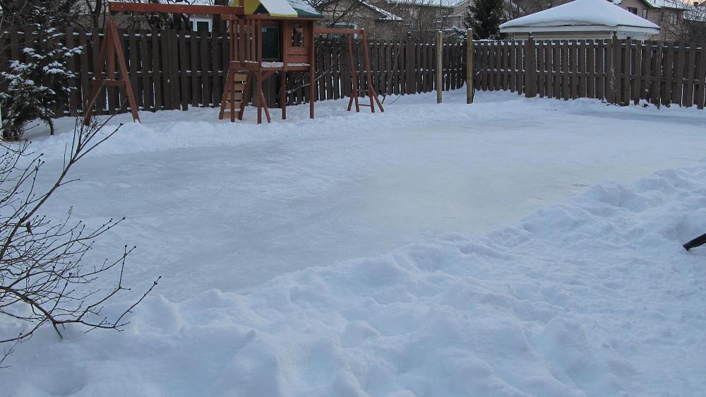 Rink in afternoon - Dec 18 2010