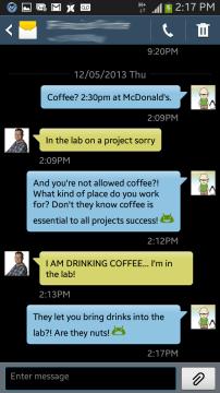 Samsung-Conversation