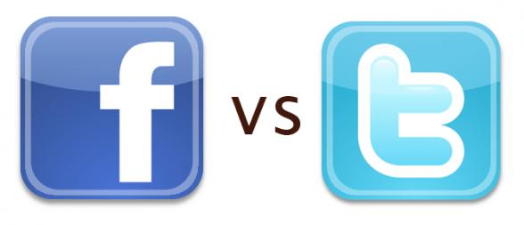 Facebook vs. Twitter