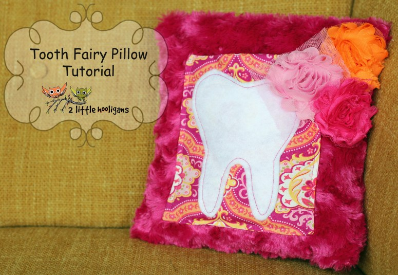 Fat Quarter Friday {tooth fairy pillow}