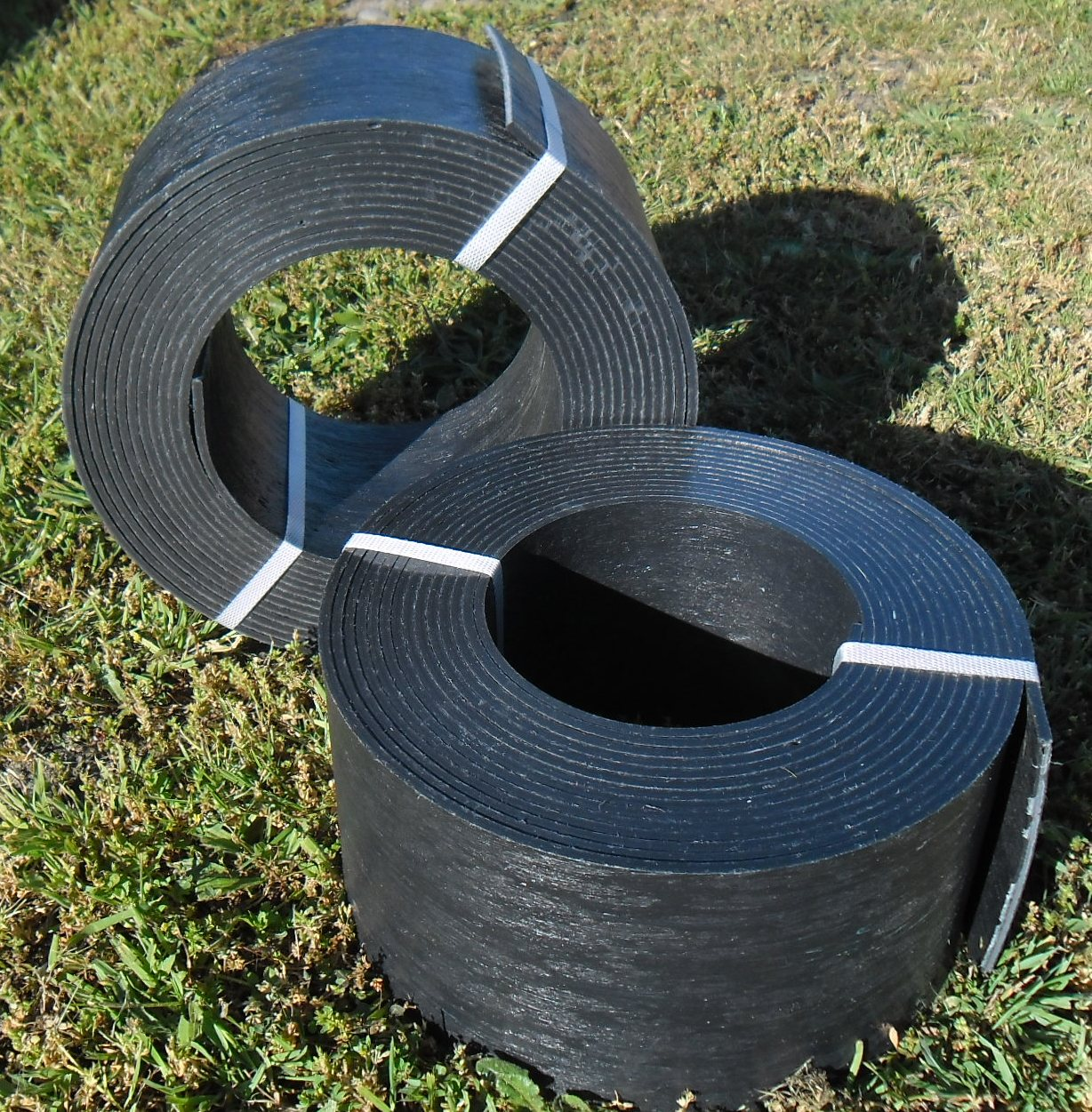 Plastic Sheeting For Landscaping : Garden edging second life plastics