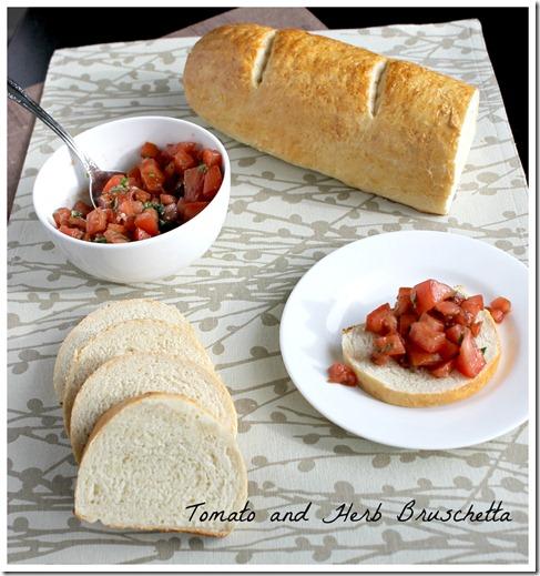 Tomato and Herb Bruschetta