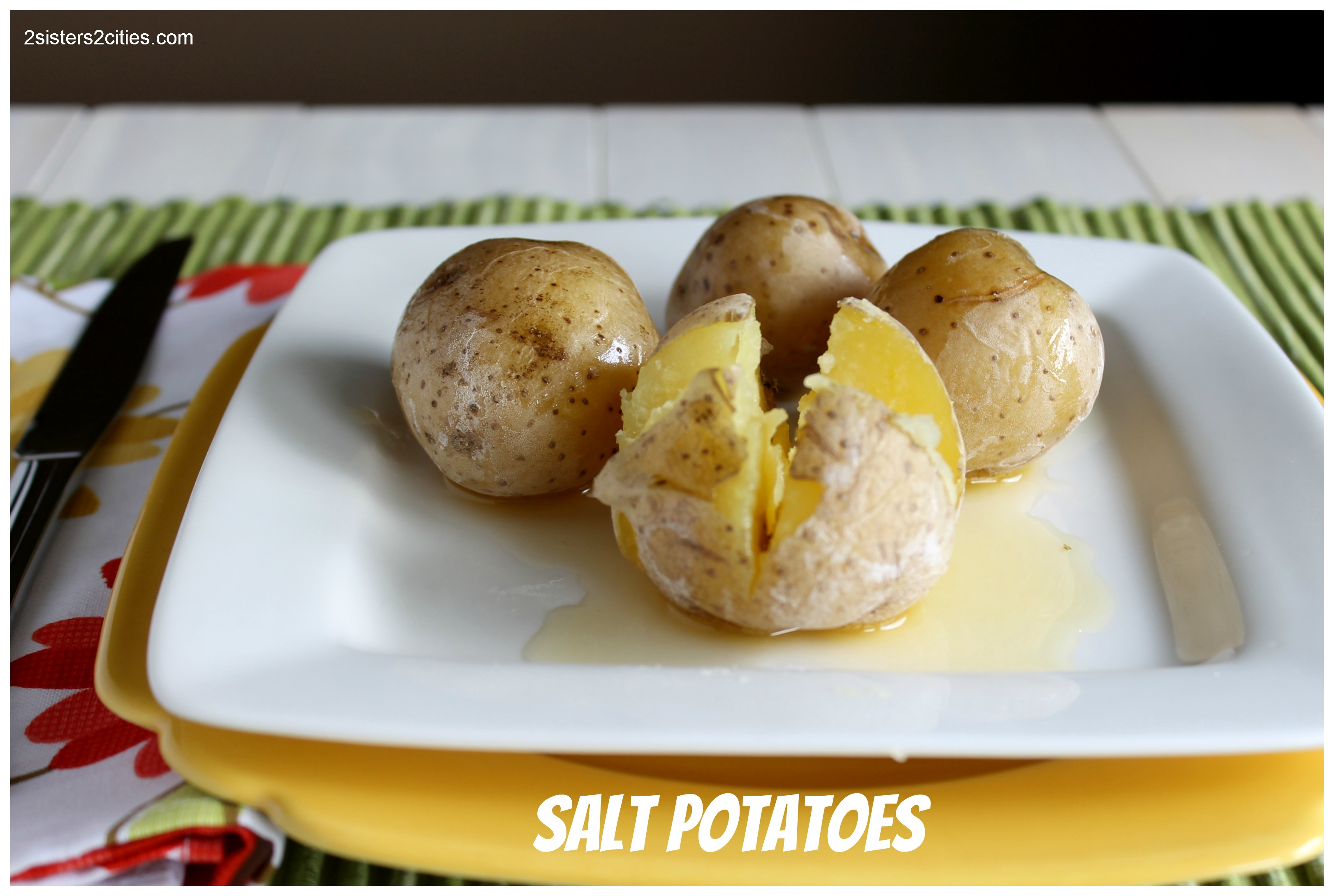 how to cook small white potatoes