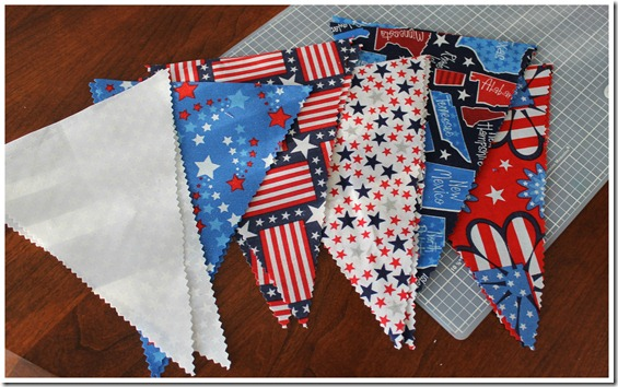 Pennant Flags Cut Out