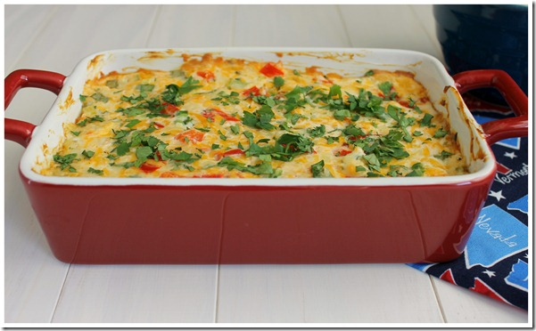 Tex-Mex Pimiento Cheese Dip Close-up