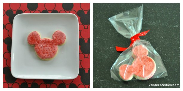 Mickey Mouse Cut-Out Cookies