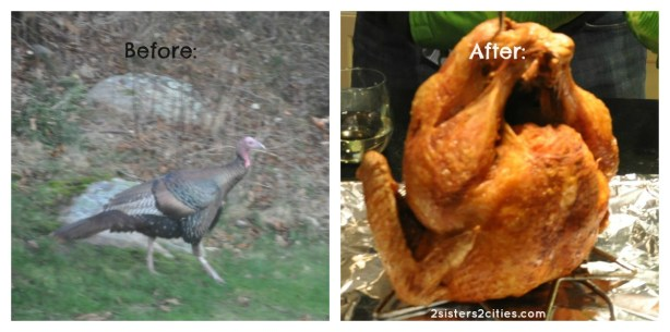how to deep fry a turkey before and after