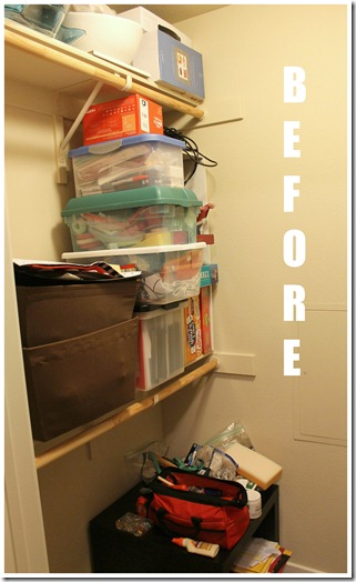 Extra Closet Before Project
