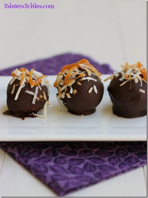 Samoa Cookie Truffles
