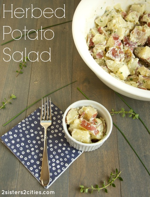 Herbed Potato Salad (from 2 Sisters 2 Cities)