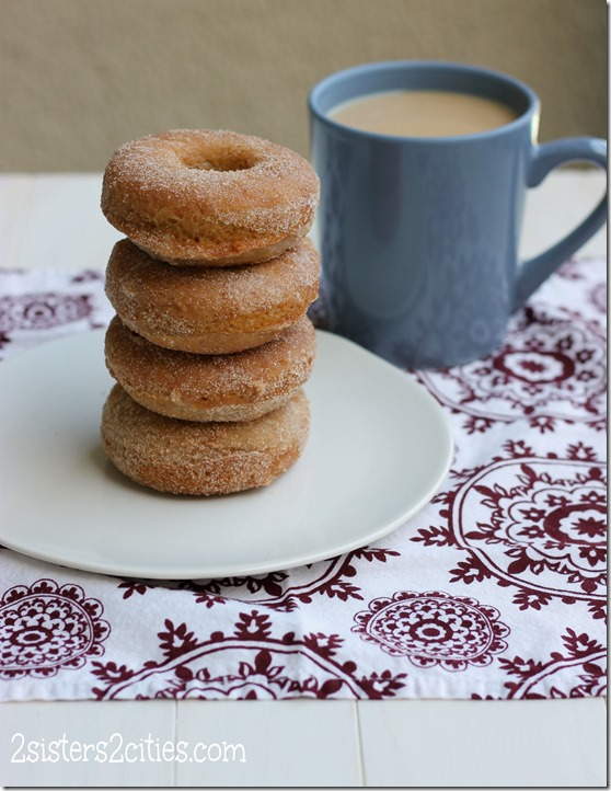 Homemade Baked Doughnuts (from 2 Sisters 2 Cities)