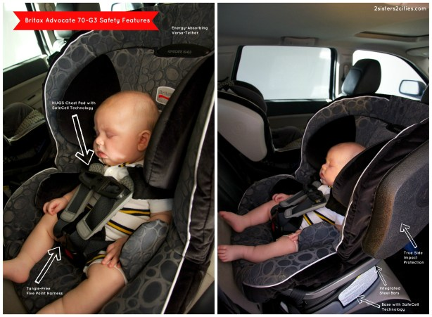 britax advocate 70g3 safety features
