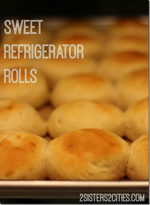 Sweet Refrigerator Rolls