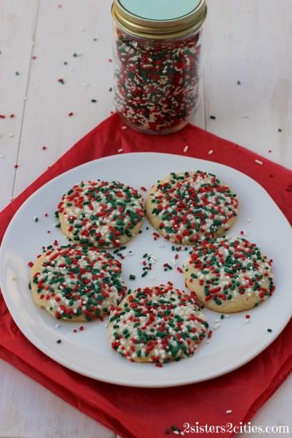 5 Sprinkle Cookies