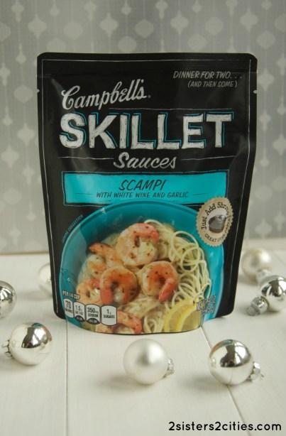 shrimp scampi skillet sauce