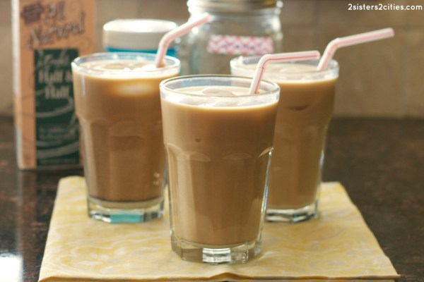 Mason Jar Iced Coffee