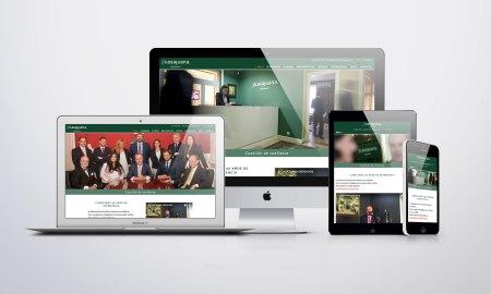 JLCasajuana Abogados - Diseño y desarrollo web