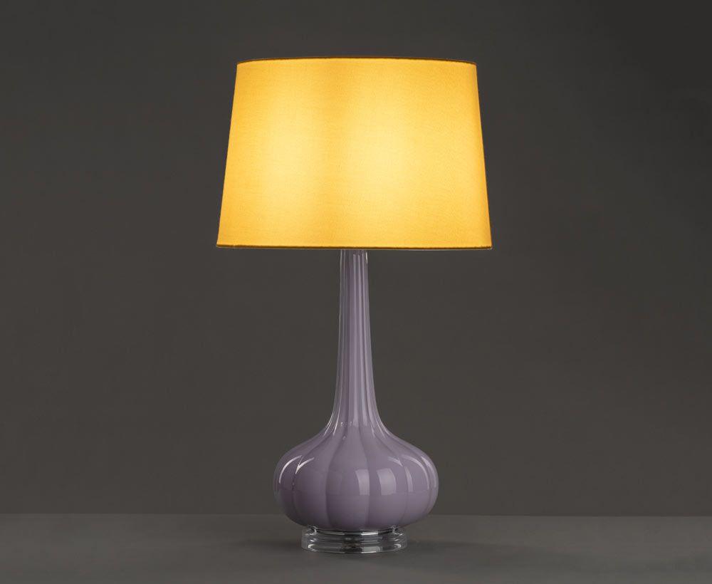 Purple Table Lamp For Modern Decor