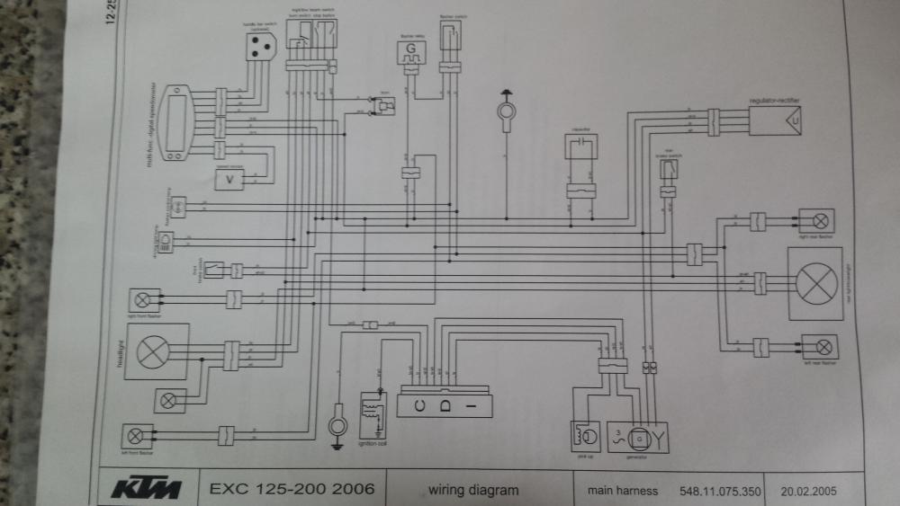 Ayuda con intermitencia en ktm exc 125 - KTM - 2y4t