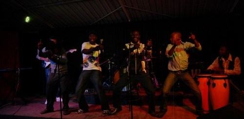 Liver performance at Book Cafe. Are live performances in Zimbabwe at risk? PIC: Pamberi Trust