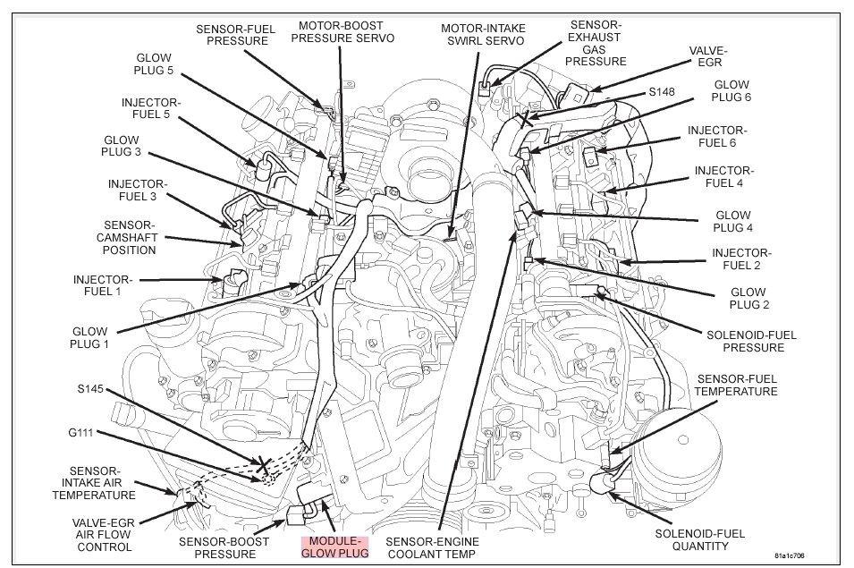 Where is the location of map sensor - Chrysler 300C Forum 300C