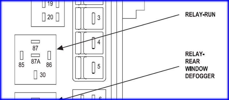 2006 Chrysler 300 2 7 Rear Fuse Diagram Wiring Diagram