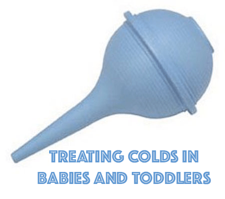 Treating colds in babies