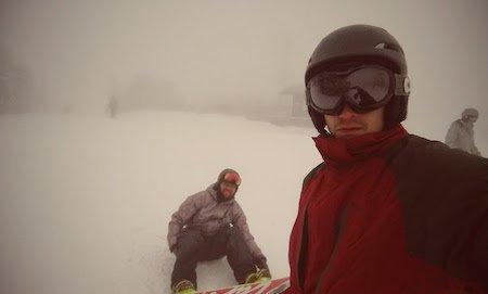 Fog at Stratton